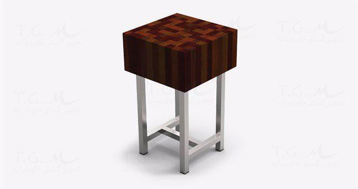 تخت کار چوبی